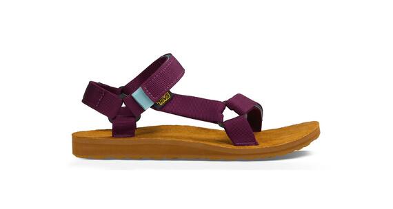 Teva Original Universal Backpack Sandals Women Grape Wine